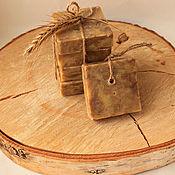 """Мыло ручной работы. Ярмарка Мастеров - ручная работа Традиционное мыло с добавлением дёгтя """"Дегтярное"""".. Handmade."""