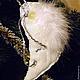 """Подвески ручной работы. Ярмарка Мастеров - ручная работа. Купить подвеска """"ангел прилетел"""". Handmade. Белый, сувениры и подарки, ретро"""