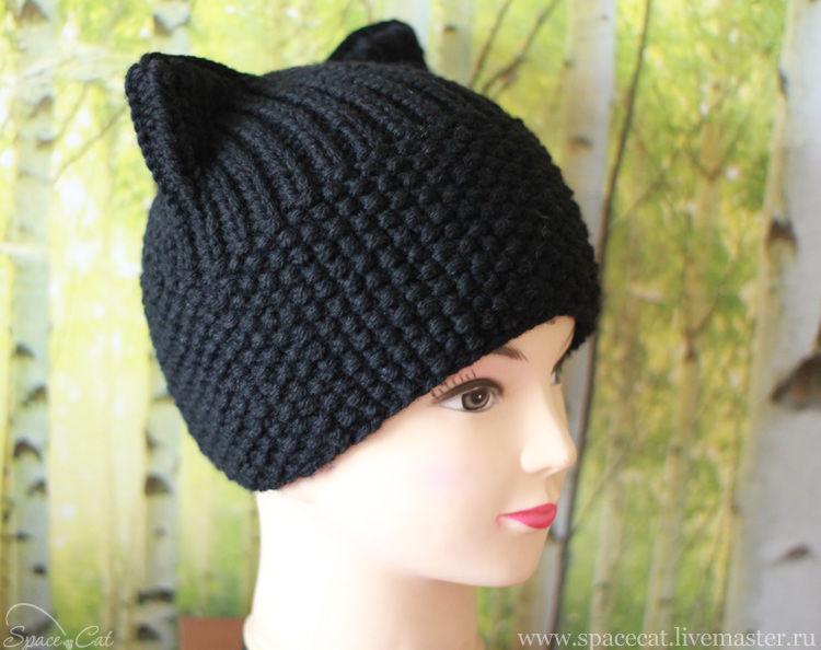 шапка с ушками,