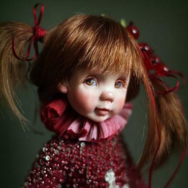 """Куклы и игрушки ручной работы. Ярмарка Мастеров - ручная работа Кукла """"Варенье из красной смородины"""". Handmade."""