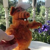 Куклы и игрушки ручной работы. Ярмарка Мастеров - ручная работа Игрушка Альф Гордон Шамуэй. Handmade.