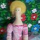 Куклы Тильды ручной работы. Ярмарка Мастеров - ручная работа. Купить Принцесса тильда. Handmade. Розовый, подарок на любой случай