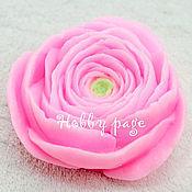 Материалы для творчества handmade. Livemaster - original item Silicone molds for soap Ranunculus. Handmade.