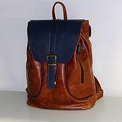 Сумки и аксессуары handmade. Livemaster - original item Backpack leather 156. Handmade.