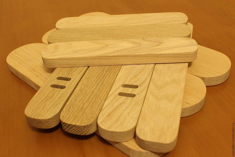 Заготовка для сумки деревянная - боковая часть, Другие виды рукоделия, Калининград, Фото №1