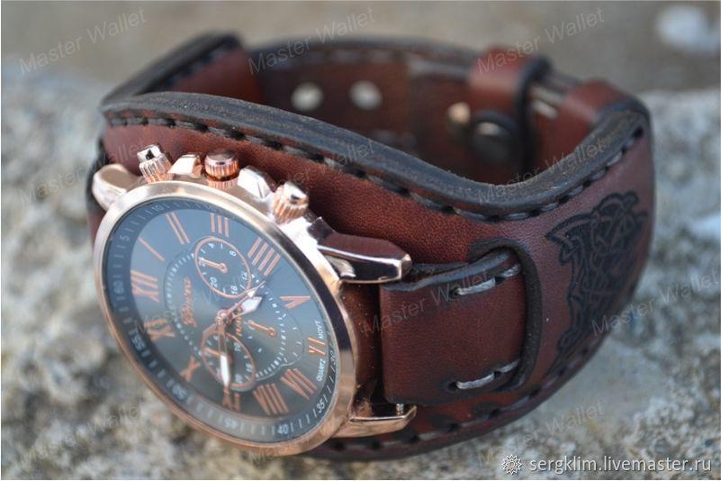 09755566 Кожаный ремешок для часов №11 – купить в интернет-магазине на ...