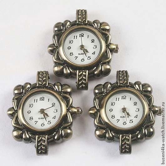 Для украшений ручной работы. Ярмарка Мастеров - ручная работа. Купить Основа для часов Бронзовые узоры, античная бронза (1шт). Handmade.