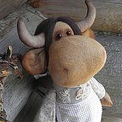 Куклы и игрушки ручной работы. Ярмарка Мастеров - ручная работа Коровка Июлечка. Handmade.