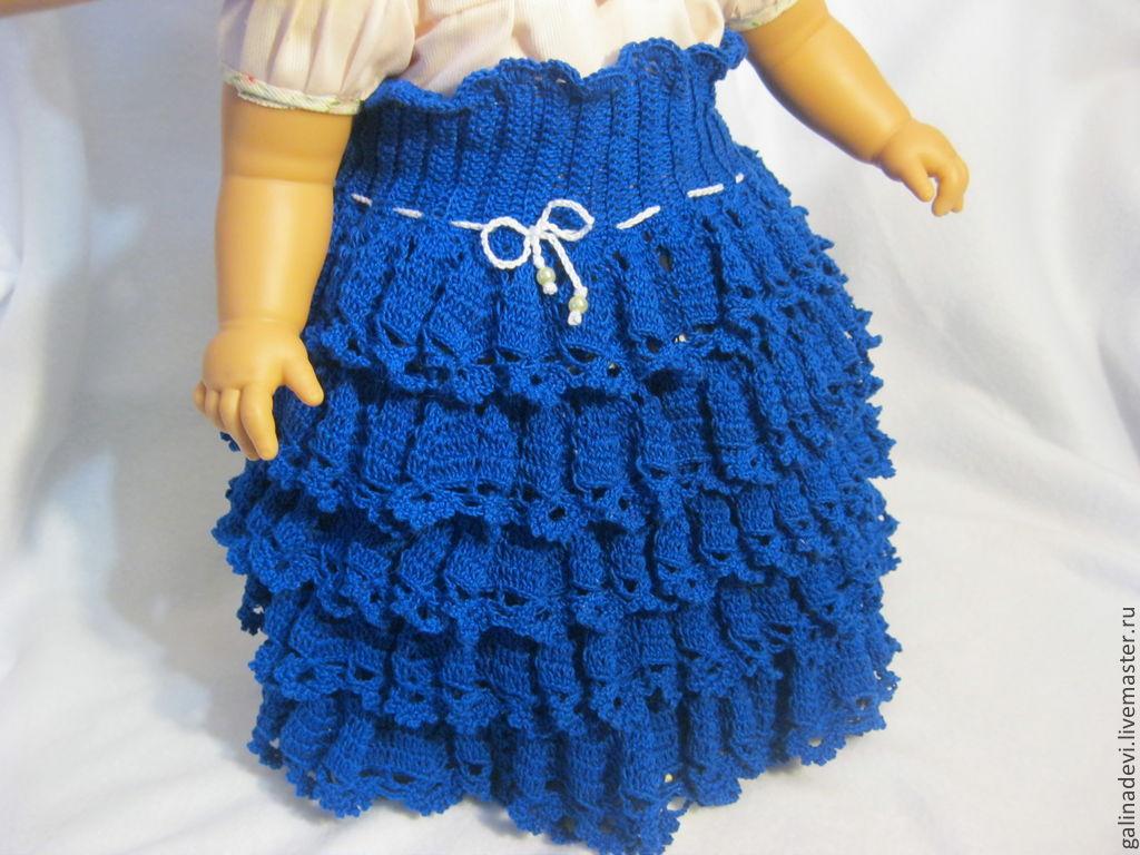 Вязание юбочек на девочек 809