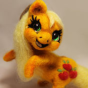 Куклы и игрушки ручной работы. Ярмарка Мастеров - ручная работа Applejack. Handmade.