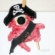 Куклы и игрушки ручной работы. Ярмарка Мастеров - ручная работа Кроликоид Пират. Handmade.