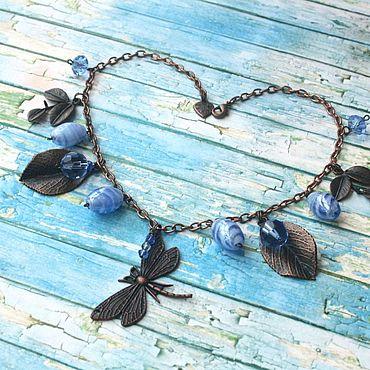 Украшения ручной работы. Ярмарка Мастеров - ручная работа Колье `Dragonfly Dream`. Handmade.