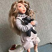 Куклы и пупсы ручной работы. Ярмарка Мастеров - ручная работа Авторская кукла Машенька. Handmade.