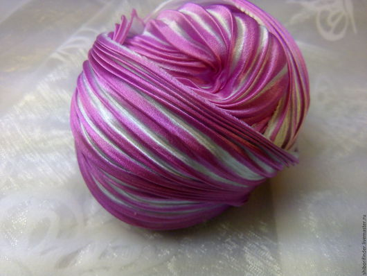 Для украшений ручной работы. Ярмарка Мастеров - ручная работа. Купить №69 Изабелла  Ленты Шибори Silk Ribbons Shibori. Handmade.
