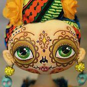 Куклы и игрушки ручной работы. Ярмарка Мастеров - ручная работа Интерьерная  текстильная кукла Эбби.. Handmade.