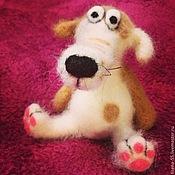 Куклы и игрушки handmade. Livemaster - original item Dog Barbosa. Handmade.