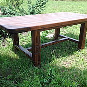 Столы ручной работы. Ярмарка Мастеров - ручная работа Стол садовый. Handmade.
