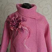 """Одежда ручной работы. Ярмарка Мастеров - ручная работа Полупальто """" Фламинго"""". Handmade."""
