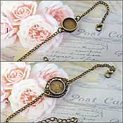 Материалы для творчества handmade. Livemaster - original item The basis for the bracelet 10-25 mm. Art.OB11. Handmade.