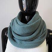 Аксессуары handmade. Livemaster - original item Snood in two turns of Merino with cashmere. Handmade.