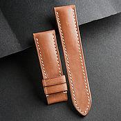 Украшения handmade. Livemaster - original item Calf leather watchband (88). Handmade.