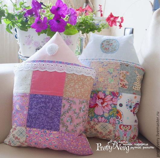 Текстиль, ковры ручной работы. Ярмарка Мастеров - ручная работа. Купить Розовая зефирная нежнятинка. Handmade. Розовый, интерьер