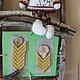 Интерьерные композиции ручной работы. Панно для кухни Березовые Окошки коллаж ассамбляж. Наталья Киселева (njuki). Ярмарка Мастеров.