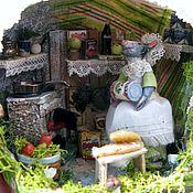 Куклы и игрушки ручной работы. Ярмарка Мастеров - ручная работа Мышка на кухне -2. Handmade.