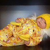 Одежда для кукол ручной работы. Ярмарка Мастеров - ручная работа Зимний комбинезон на беби бона, анабель и антонио хуана. Handmade.