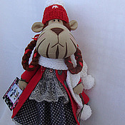 Куклы и игрушки ручной работы. Ярмарка Мастеров - ручная работа Тигр. Handmade.