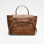 Сумки и аксессуары handmade. Livemaster - original item Women`s bag made of genuine crocodile leather. Handmade.