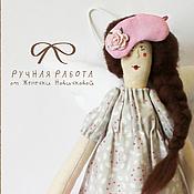 Куклы и игрушки ручной работы. Ярмарка Мастеров - ручная работа Сонная принцесса в стиле Тильда. Handmade.