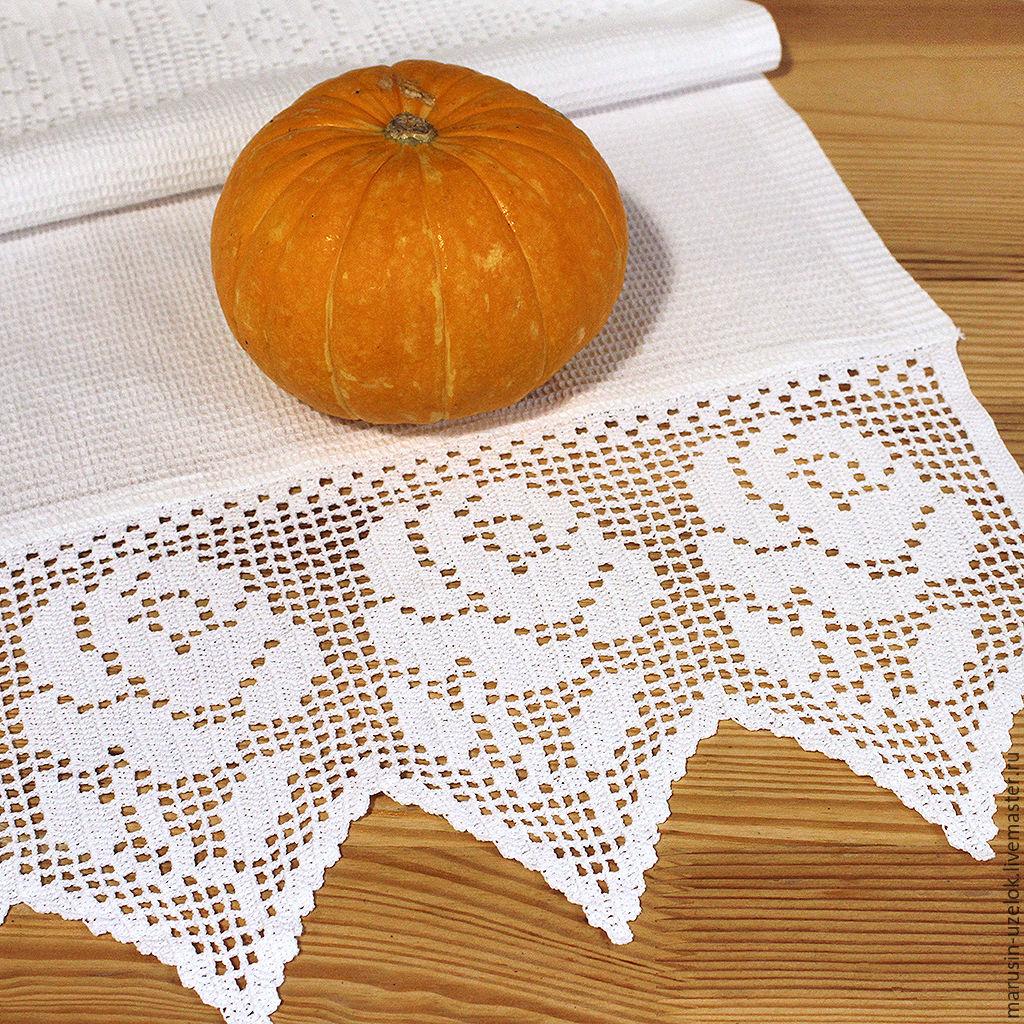 Кухонное полотенце вафельное полотенце для кухни купить белый, Полотенца, Черноголовка, Фото №1