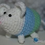Мягкие игрушки ручной работы. Ярмарка Мастеров - ручная работа Мягкие игрушки: Мышка-норушка. Handmade.