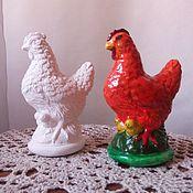 Куклы и игрушки ручной работы. Ярмарка Мастеров - ручная работа Петух и курица. Handmade.