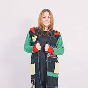 Одежда ручной работы. Ярмарка Мастеров - ручная работа Чёрный  , шерстяной свитер. Handmade.