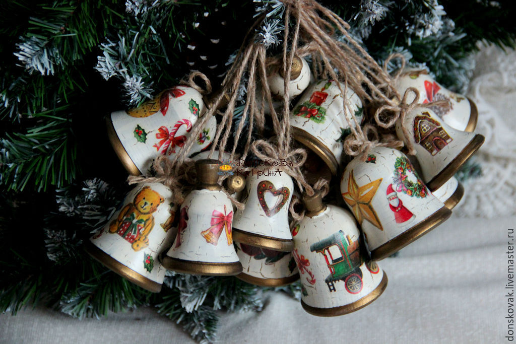 Новогодние подарки ручной работы фото 32