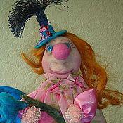 Куклы и игрушки ручной работы. Ярмарка Мастеров - ручная работа Жоржетта. Клоунесса. Handmade.
