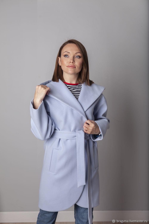 Sky coat with hood, Coats, Moscow,  Фото №1