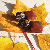 """Украшения ручной работы. Ярмарка Мастеров - ручная работа Серьги """"Осень. Яркость-2"""". Handmade."""