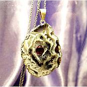 """Украшения ручной работы. Ярмарка Мастеров - ручная работа Кулон """"Капля крови"""". Handmade."""