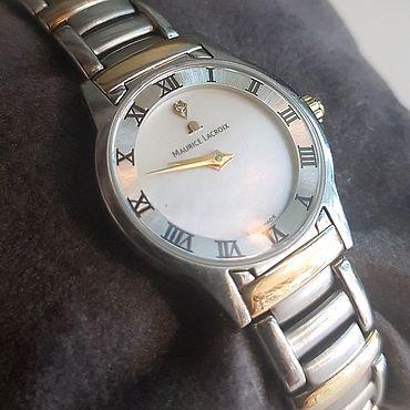 Vintage. Livemaster - original item Maurice Lacroix women`s wrist watch Switzerland. Handmade.