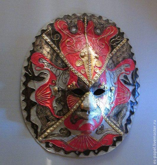 Интерьерные  маски ручной работы. Ярмарка Мастеров - ручная работа. Купить Маска Шамана. Handmade. Маска, Папье-маше, мифология