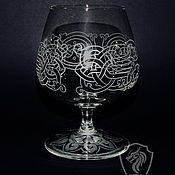 Посуда handmade. Livemaster - original item Brandy glasses