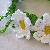 Аксессуары handmade. Livemaster - original item A wreath on the head, dressing for the hair