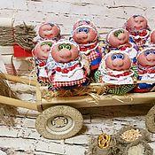 Народная кукла ручной работы. Ярмарка Мастеров - ручная работа Хозяюшка-благополучница. Handmade.
