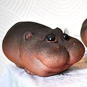 Куклы и игрушки handmade. Livemaster - original item Hippo. Handmade.