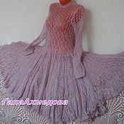 Одежда handmade. Livemaster - original item Elegant mohair dress