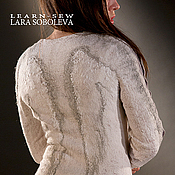 """Одежда ручной работы. Ярмарка Мастеров - ручная работа валяный свитер """"Ангел мой"""" эко стиль. Handmade."""