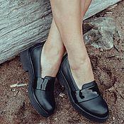 Обувь ручной работы. Ярмарка Мастеров - ручная работа Туфли-лоферы Tess. Handmade.